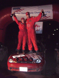 Victory for the Marciniaks at International Rally New York
