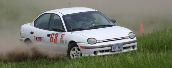 Jan Gerber at a rallycross in Nebraska!