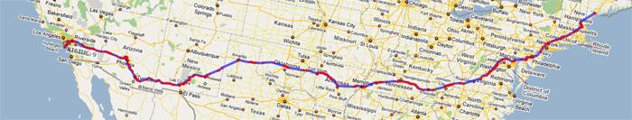 RTUSA3 Track Road Trip USA Three 3