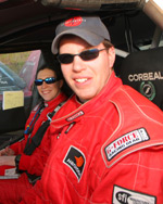 Rally Driver Kristopher Marciniak at Rim of the World