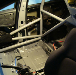 2GN roll cage paint