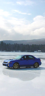 WRX on Newfound Lake in NH