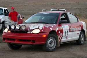 Dodge Rally Neon at Gorman Ridge