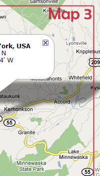 APRS Maps for Rally New York 2008