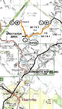 Spectator maps for Rally NY