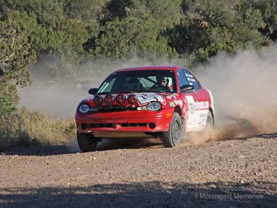 Rallynotes.com at the 2007 Prescott Rally