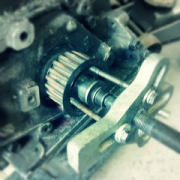 "BTW This is how it's done. Timing gear pull - right tool FTW! :D • <a style=""font-size:0.8em;"" href=""http://www.flickr.com/photos/75498260@N00/14821505794/"" target=""_blank"">View on Flickr</a>"