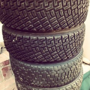 "We're bringing 4 used rally tires to Glen Helen #rallycross next weekend. 185/65/15"" Who will take'em all for $100? • <a style=""font-size:0.8em;"" href=""http://www.flickr.com/photos/75498260@N00/15506658941/"" target=""_blank"">View on Flickr</a>"