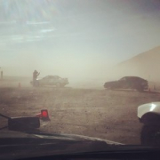 """Rallycross dust force majeure. Press on regardless! • <a style=""""font-size:0.8em;"""" href=""""http://www.flickr.com/photos/75498260@N00/15184761433/"""" target=""""_blank"""">View on Flickr</a>"""