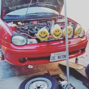 """Ze'Neon getting cleaned up and prepped for the weekend. 😊 • <a style=""""font-size:0.8em;"""" href=""""http://www.flickr.com/photos/75498260@N00/28760973646/"""" target=""""_blank"""">View on Flickr</a>"""